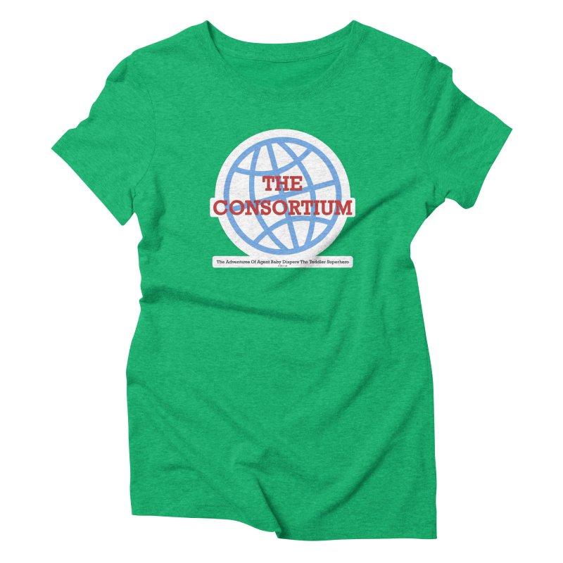 The Consortium Logo Women's Triblend T-Shirt by OFL BDTS Shop