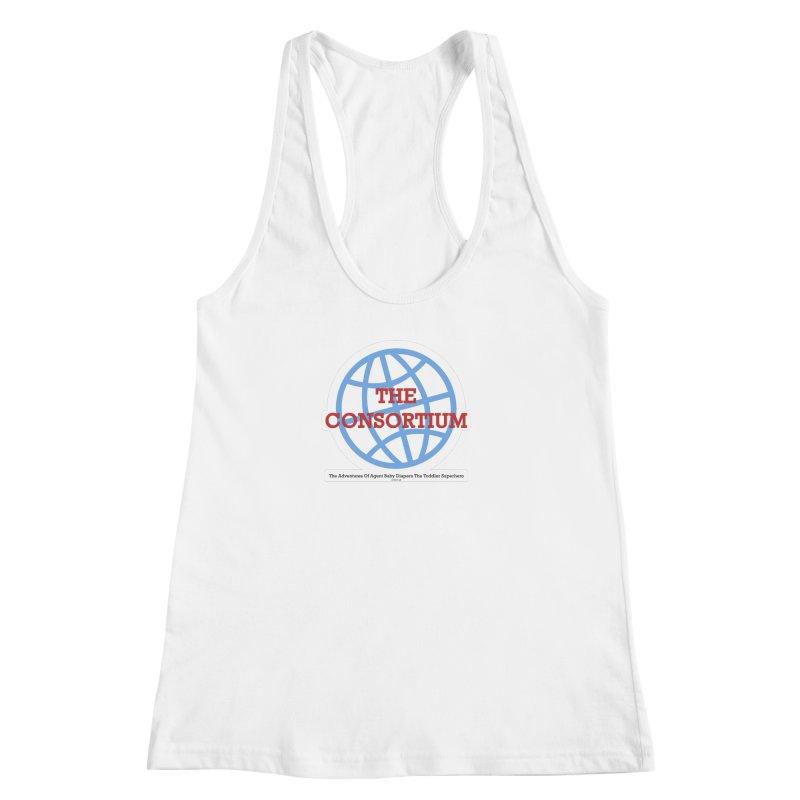 The Consortium Logo Women's Racerback Tank by OFL BDTS Shop
