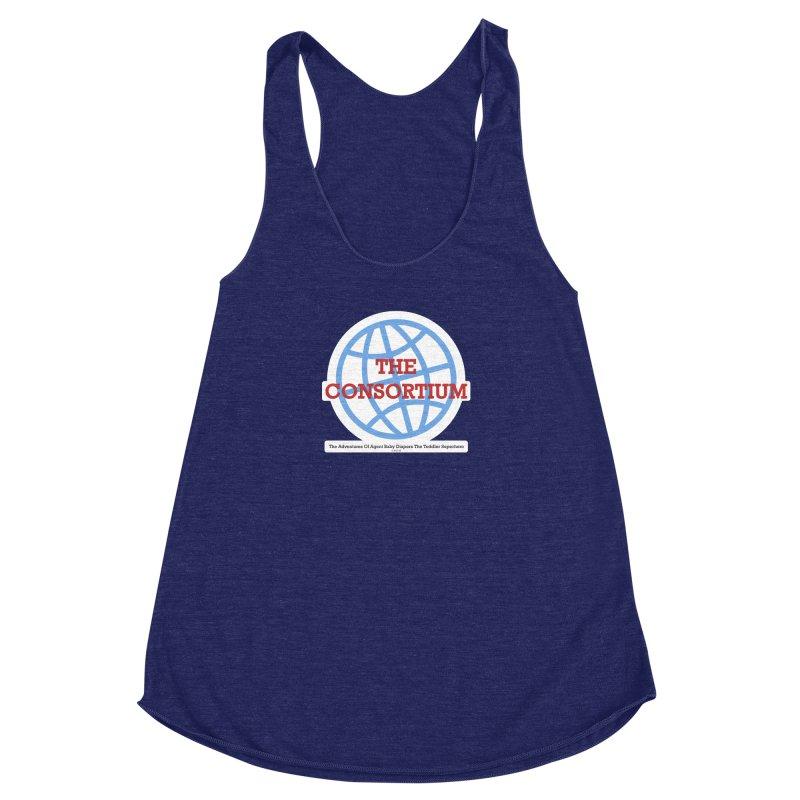 The Consortium Logo Women's Racerback Triblend Tank by OFL BDTS Shop