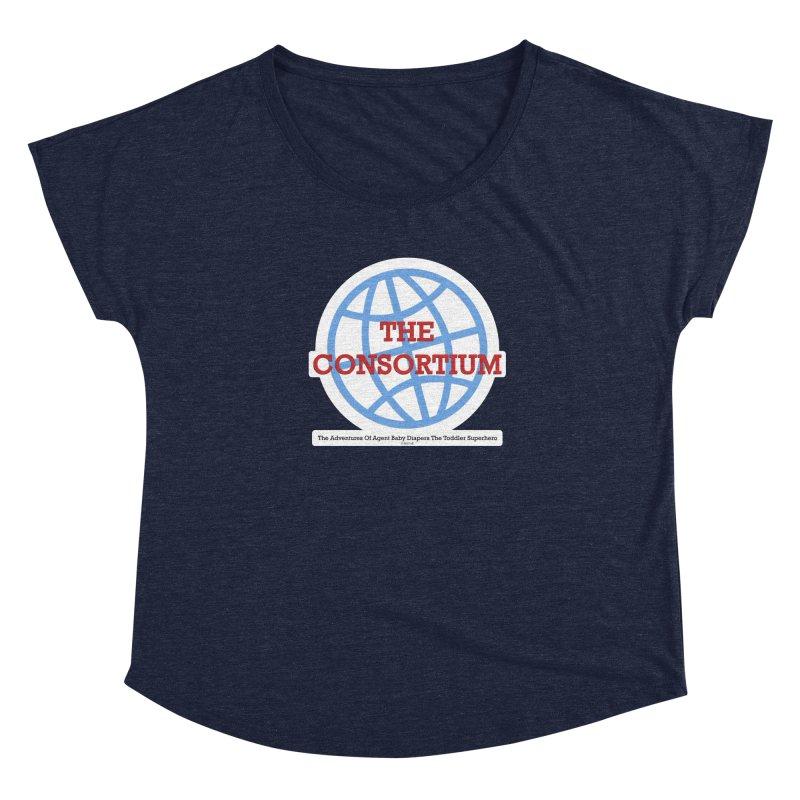 The Consortium Logo Women's Scoop Neck by OFL BDTS Shop