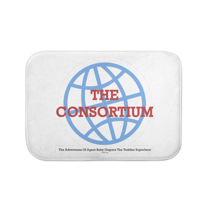 The Consortium Logo Home Bath Mat by OFL BDTS Shop