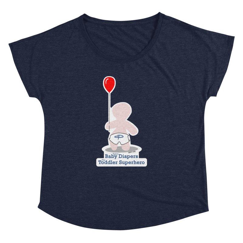 BDTS Balloon Women's Dolman Scoop Neck by OFL BDTS Shop