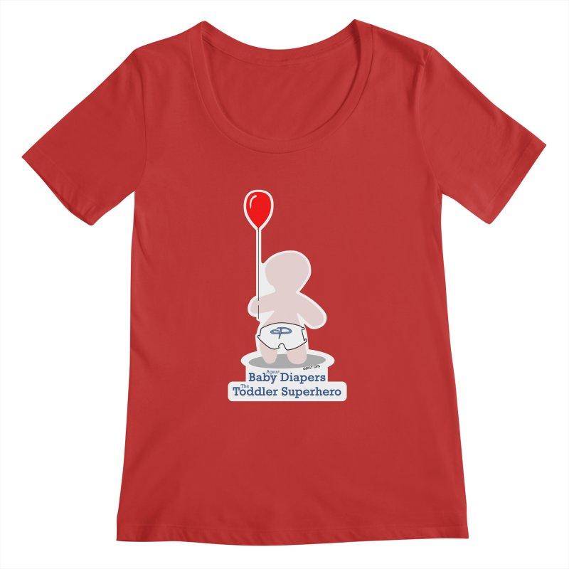 BDTS Balloon Women's Regular Scoop Neck by OFL BDTS Shop