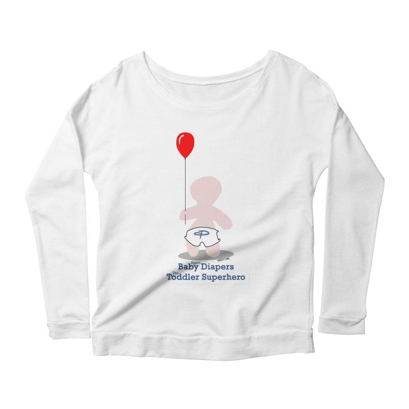 BDTS Balloon Women's Scoop Neck Longsleeve T-Shirt by OFL BDTS Shop