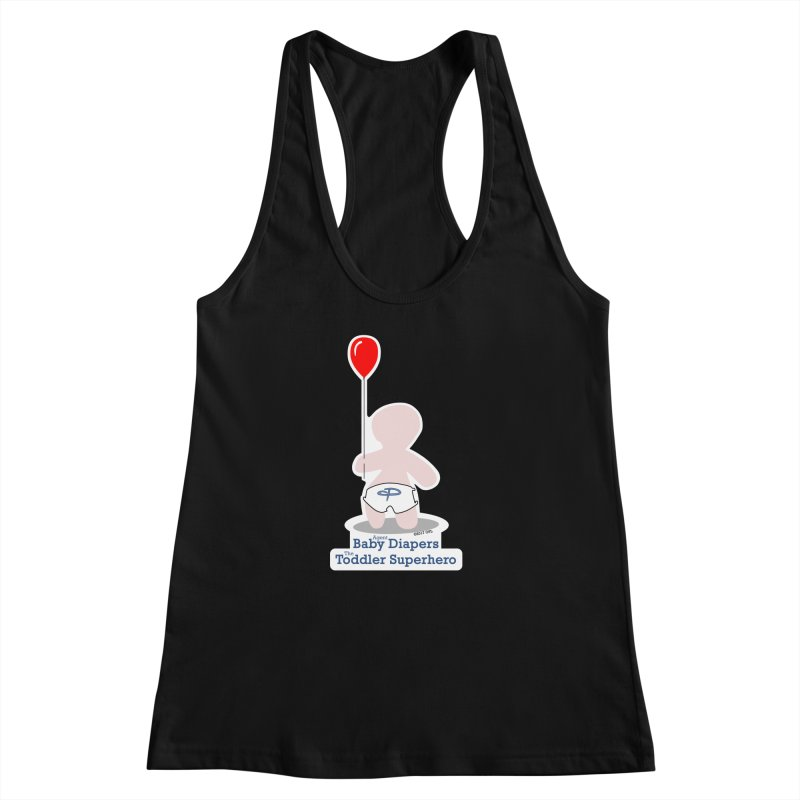 BDTS Balloon Women's Racerback Tank by OFL BDTS Shop