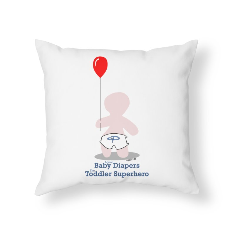 BDTS Balloon Home Throw Pillow by OFL BDTS Shop