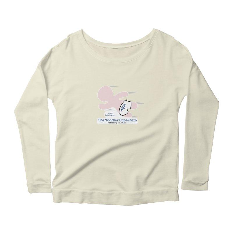 BDTS Flying Women's Scoop Neck Longsleeve T-Shirt by OFL BDTS Shop