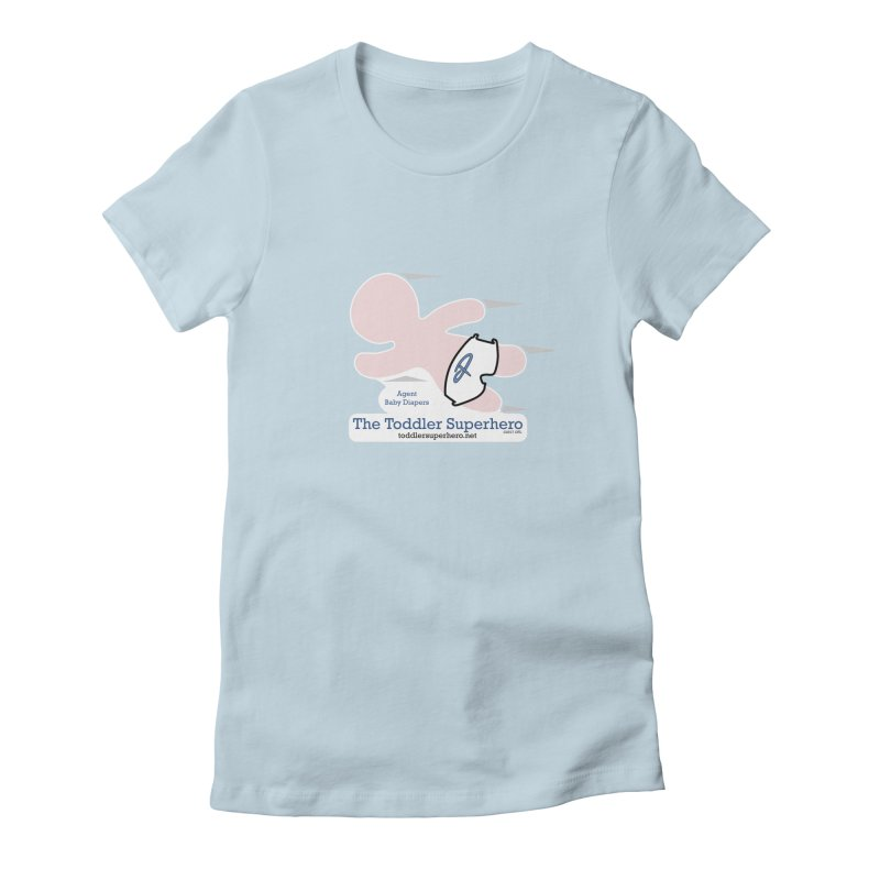 BDTS Flying Women's Fitted T-Shirt by OFL BDTS Shop