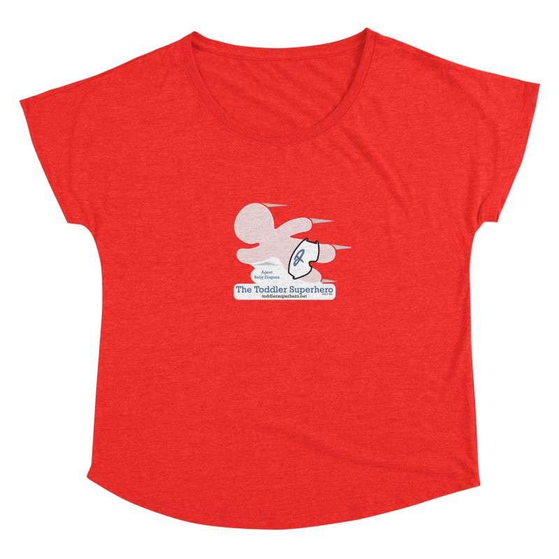 BDTS Flying Women's Scoop Neck by OFL BDTS Shop