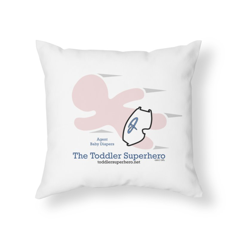 BDTS Flying Home Throw Pillow by OFL BDTS Shop