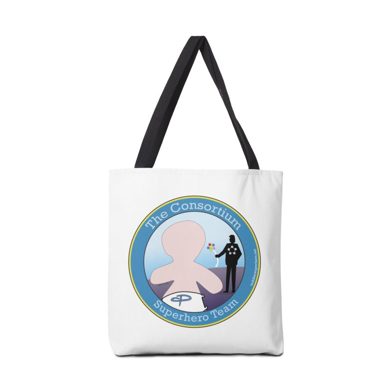 The Consortium Superhero Team Badge Accessories Bag by OFL BDTS Shop
