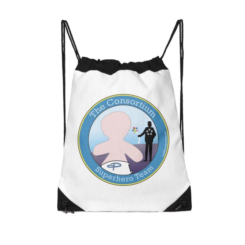 The Consortium Superhero Team Badge Accessories Bag by OFL BDTS Shop