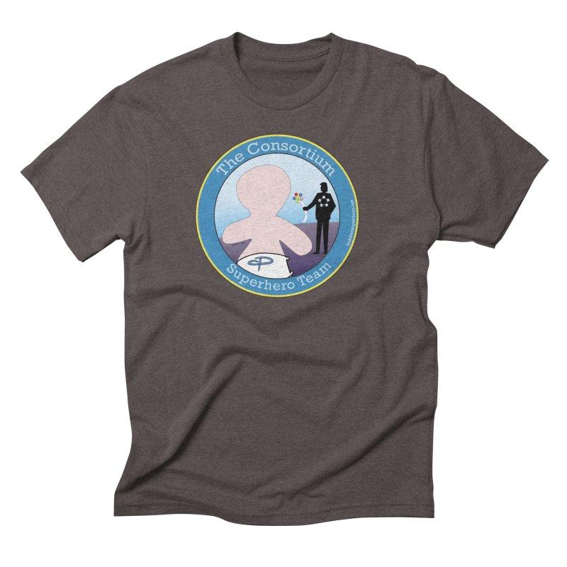 The Consortium Superhero Team Badge Men's T-Shirt by OFL BDTS Shop