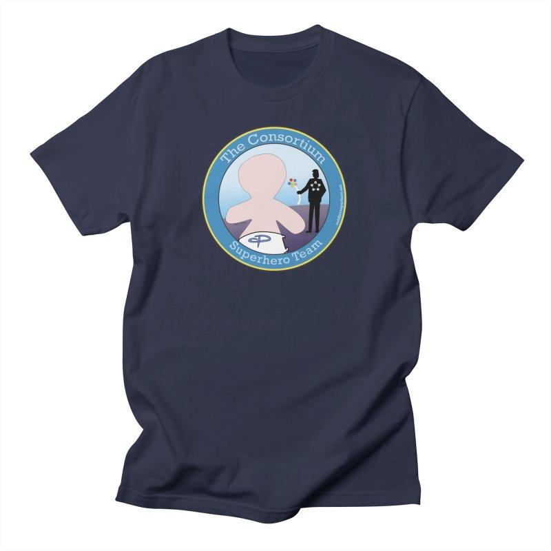 The Consortium Superhero Team Badge Men's Regular T-Shirt by OFL BDTS Shop