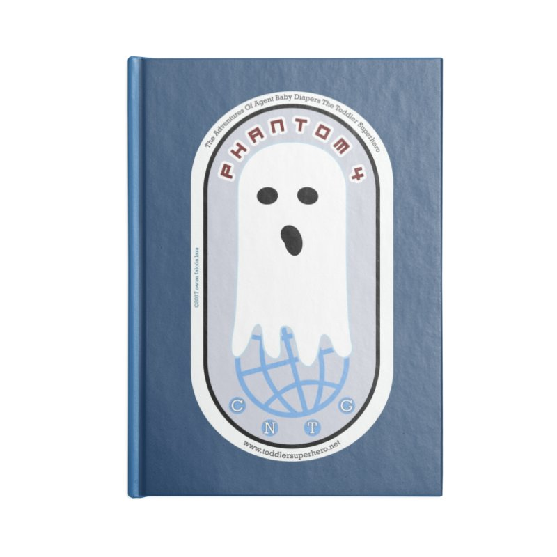 CNTG Phantom 4 Emblem Accessories Notebook by OFL BDTS Shop