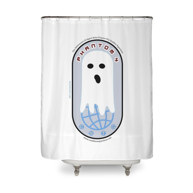 CNTG Phantom 4 Emblem Home Shower Curtain by OFL BDTS Shop