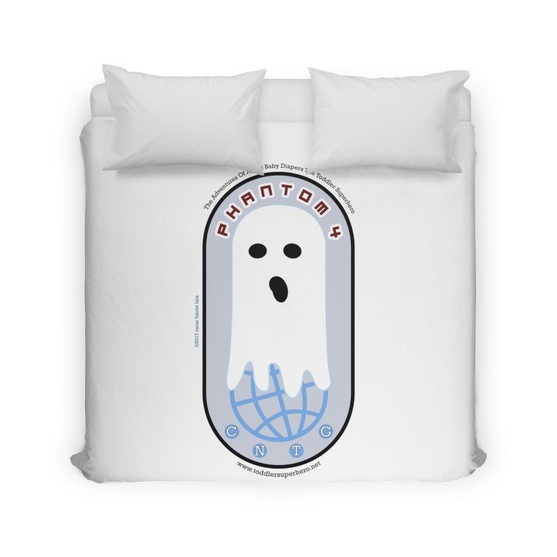 CNTG Phantom 4 Emblem Home Duvet by OFL BDTS Shop
