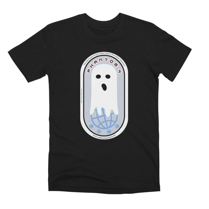CNTG Phantom 4 Emblem Men's Premium T-Shirt by OFL BDTS Shop