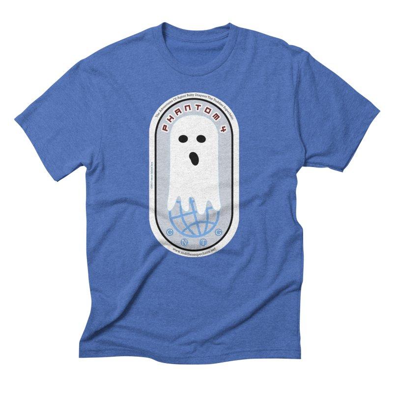 CNTG Phantom 4 Emblem Men's T-Shirt by OFL BDTS Shop