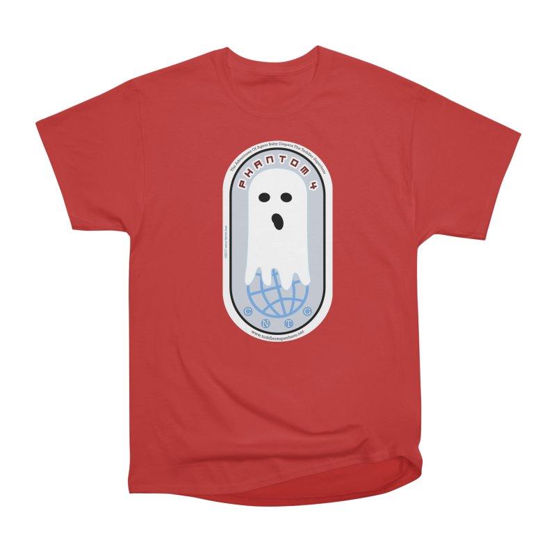 CNTG Phantom 4 Emblem Men's Heavyweight T-Shirt by OFL BDTS Shop