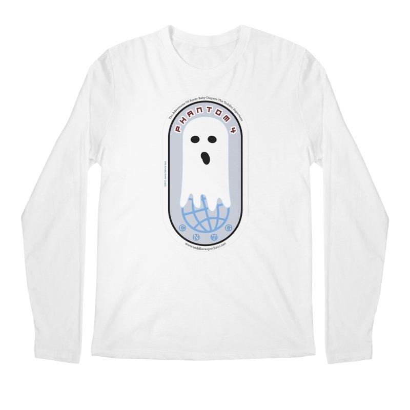 CNTG Phantom 4 Emblem Men's Regular Longsleeve T-Shirt by OFL BDTS Shop
