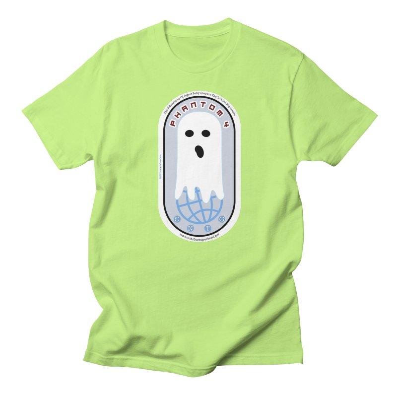 CNTG Phantom 4 Emblem Men's Regular T-Shirt by OFL BDTS Shop