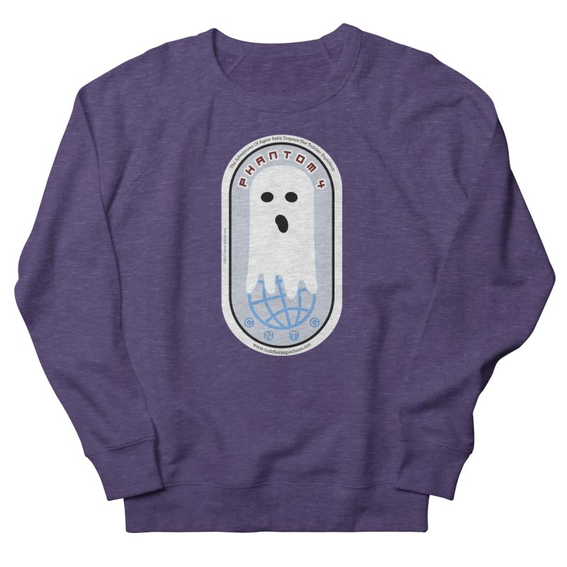 CNTG Phantom 4 Emblem Men's French Terry Sweatshirt by OFL BDTS Shop