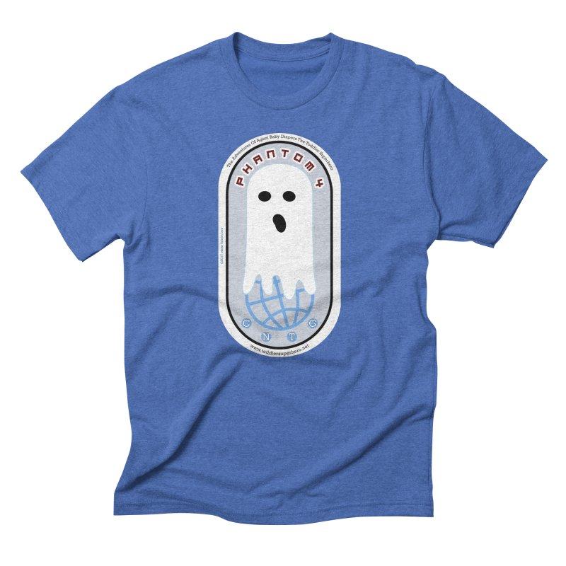 CNTG Phantom 4 Emblem Men's Triblend T-Shirt by OFL BDTS Shop
