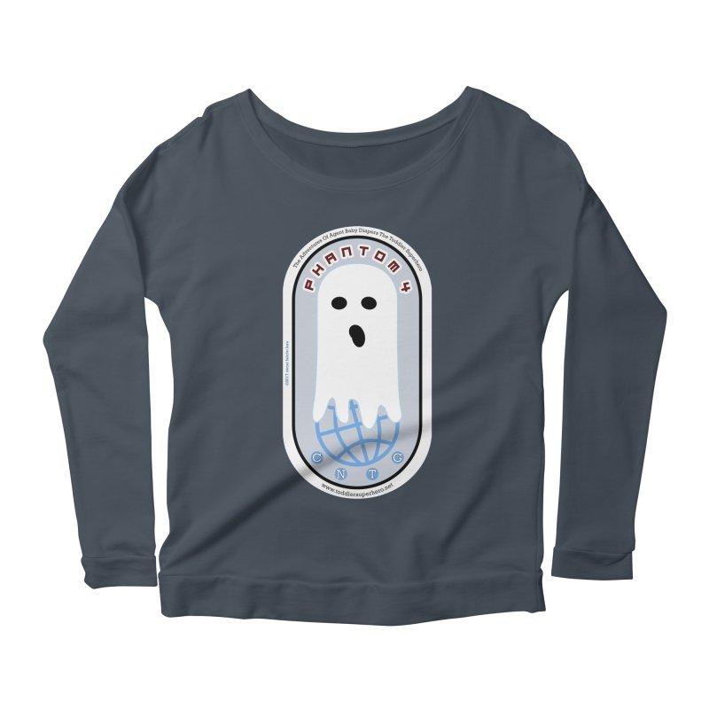CNTG Phantom 4 Emblem Women's Scoop Neck Longsleeve T-Shirt by OFL BDTS Shop