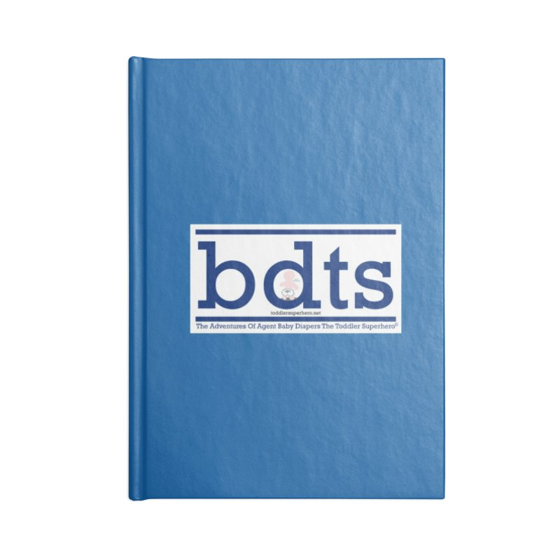 BDTS text logo Accessories Blank Journal Notebook by OFL BDTS Shop