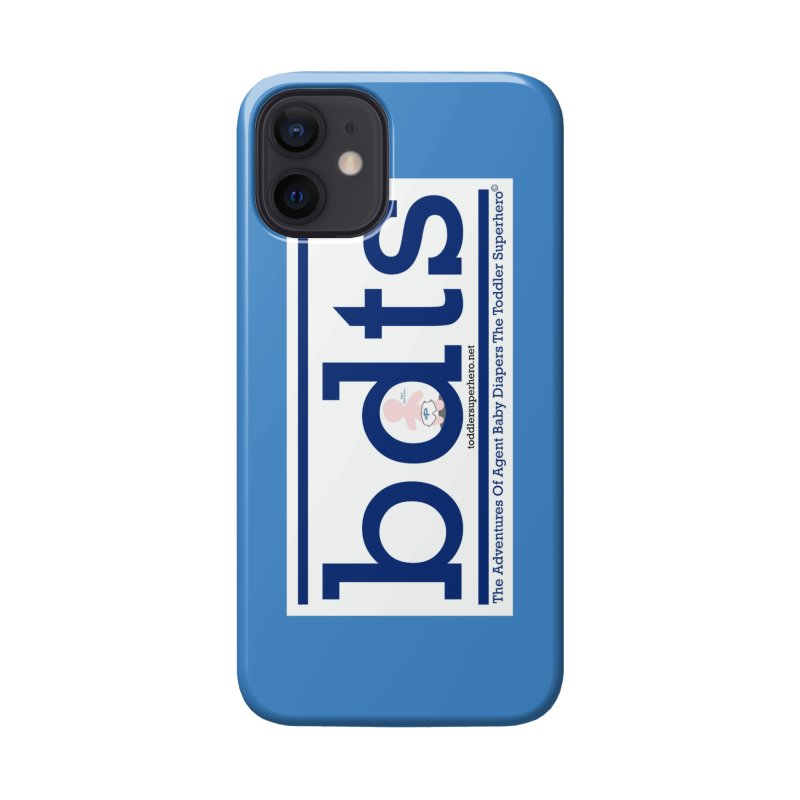 BDTS text logo Accessories Phone Case by OFL BDTS Shop