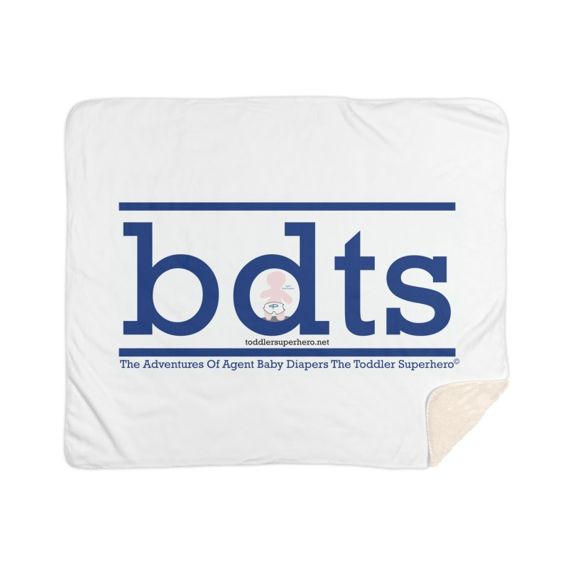 BDTS text logo Home Blanket by OFL BDTS Shop