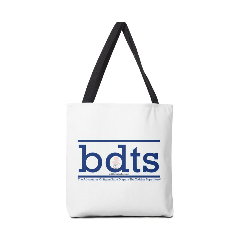 BDTS text logo Accessories Bag by OFL BDTS Shop