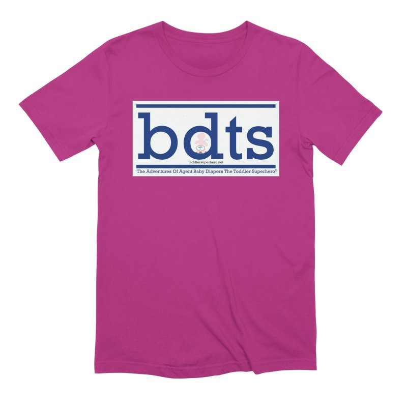 BDTS text logo Men's Extra Soft T-Shirt by OFL BDTS Shop