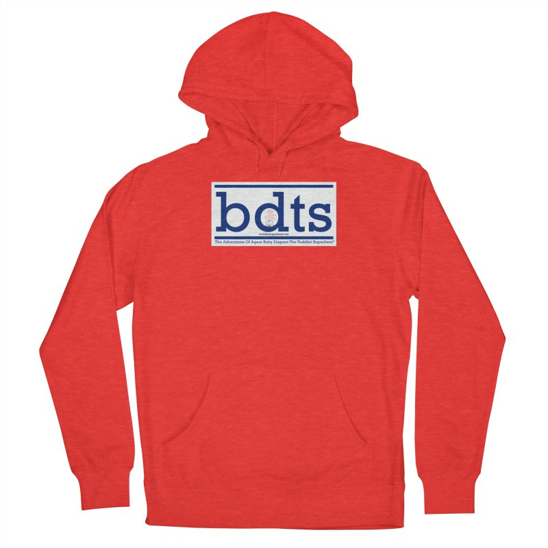 BDTS text logo Women's Pullover Hoody by OFL BDTS Shop
