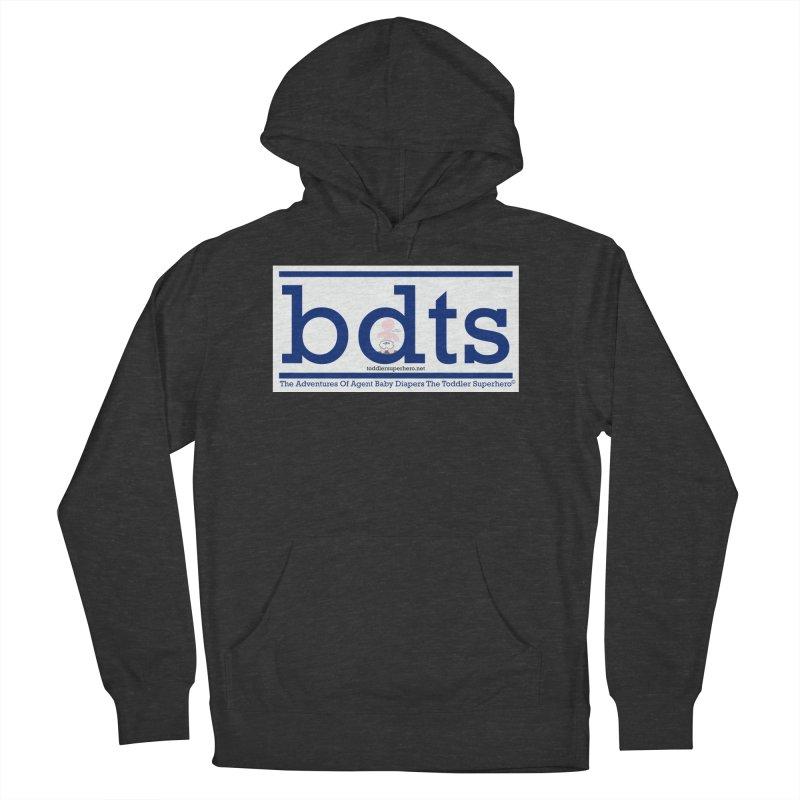 BDTS text logo Women's French Terry Pullover Hoody by OFL BDTS Shop