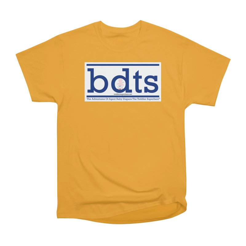 BDTS text logo Women's Heavyweight Unisex T-Shirt by OFL BDTS Shop