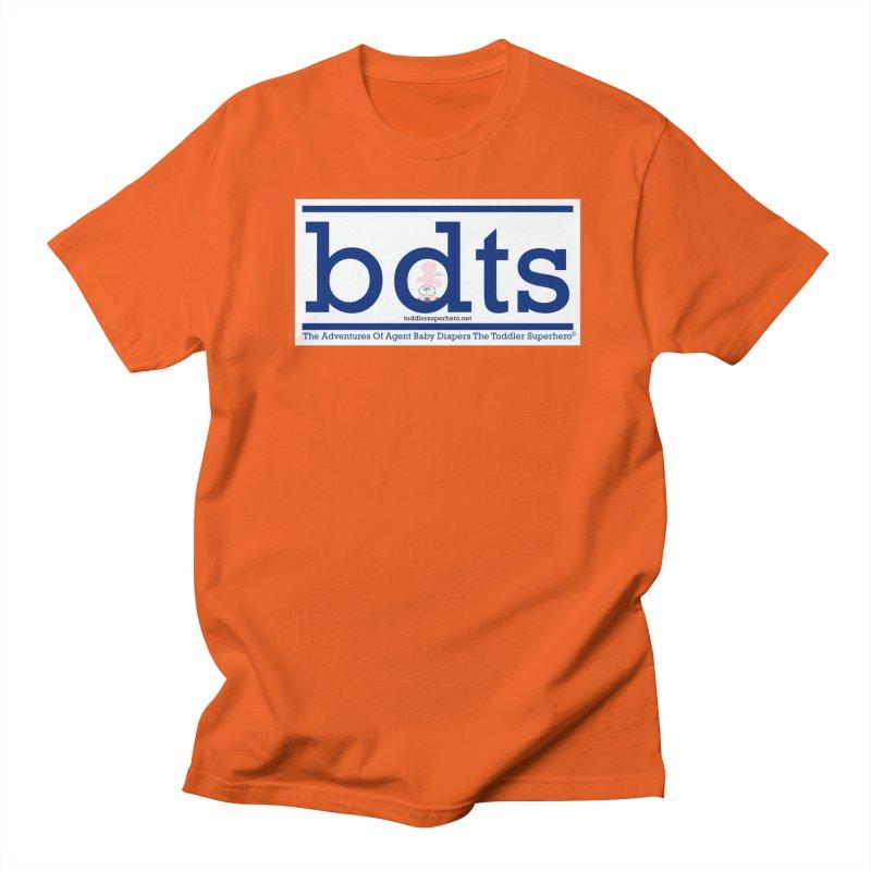 BDTS text logo Women's Regular Unisex T-Shirt by OFL BDTS Shop
