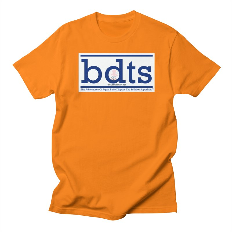 BDTS text logo Women's Regular Unisex T-Shirt by OFL BDTS Shop