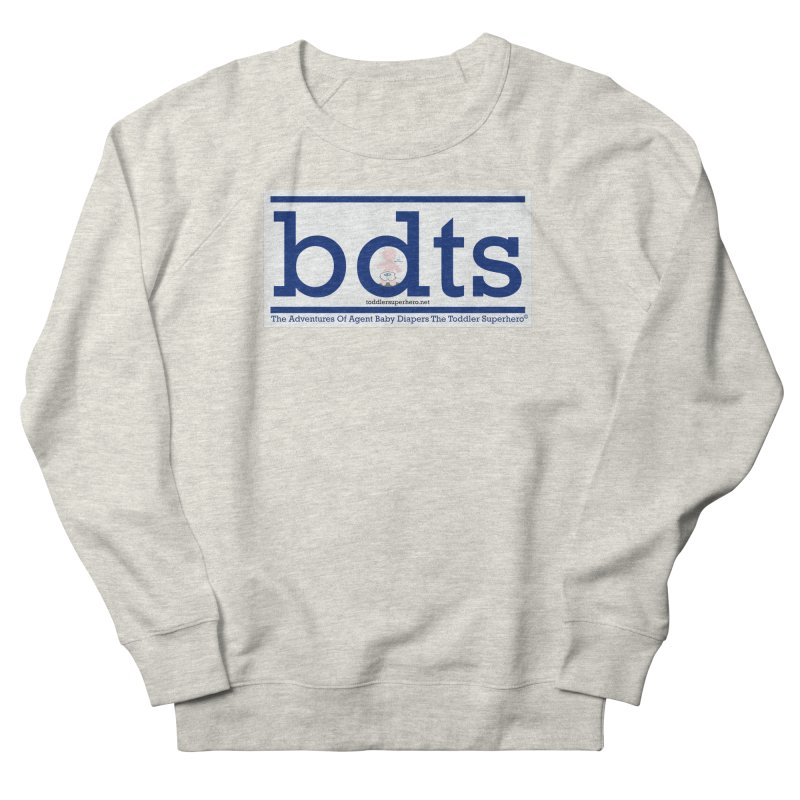 BDTS text logo Women's French Terry Sweatshirt by OFL BDTS Shop