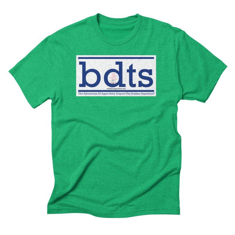 BDTS text logo Men's Triblend T-Shirt by OFL BDTS Shop