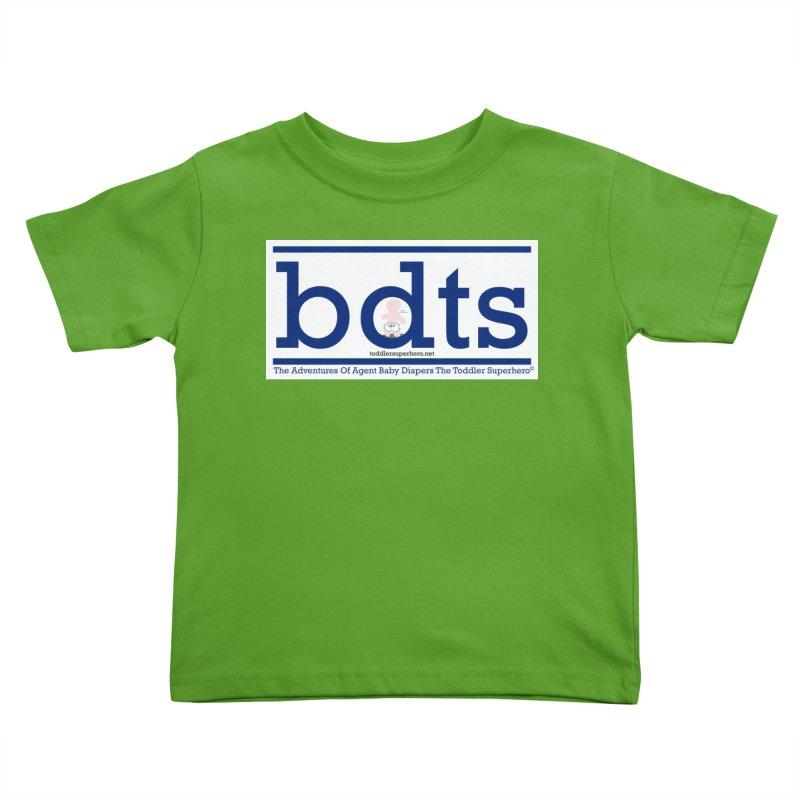 BDTS text logo Kids Toddler T-Shirt by OFL BDTS Shop