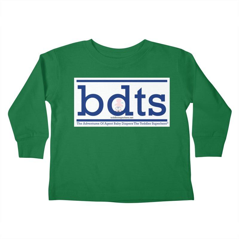 BDTS text logo Kids Toddler Longsleeve T-Shirt by OFL BDTS Shop