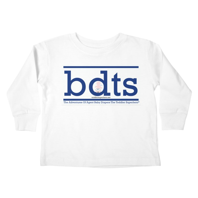 BDTS text logo Kids Toddler Longsleeve T-Shirt by OFL BDTS Shop