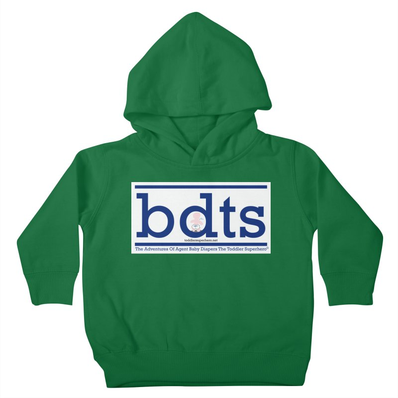BDTS text logo Kids Toddler Pullover Hoody by OFL BDTS Shop