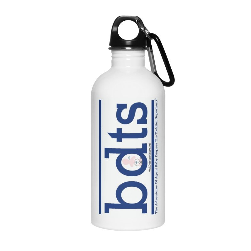 BDTS text logo Accessories Water Bottle by OFL BDTS Shop