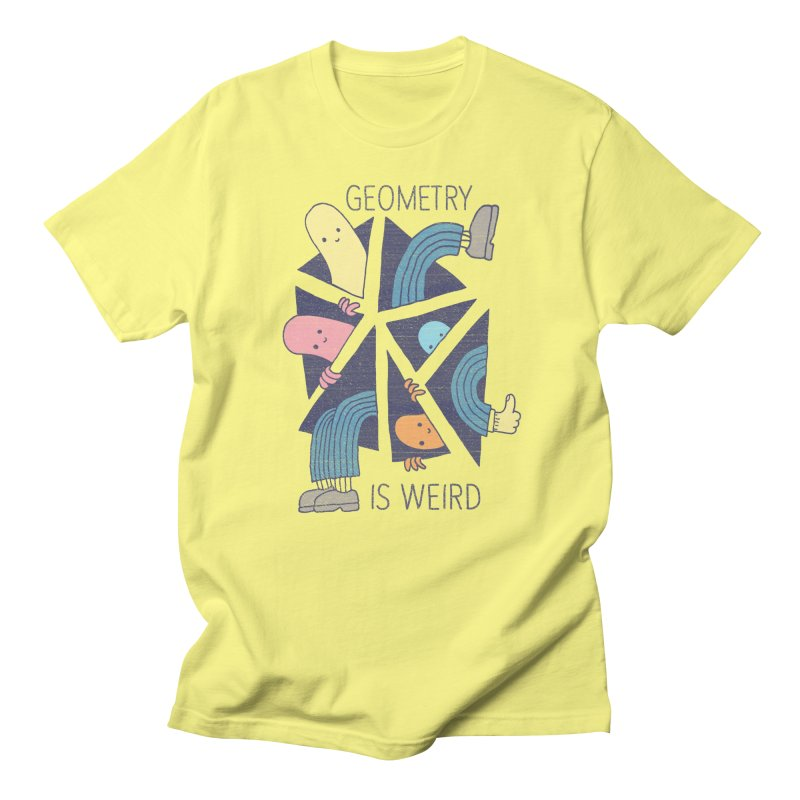 GEOMETRY IS WEIRD Men's T-Shirt by Beanepod