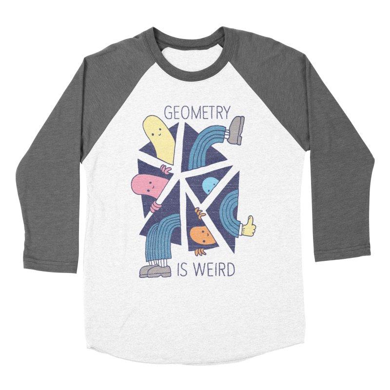 GEOMETRY IS WEIRD Women's Longsleeve T-Shirt by Beanepod