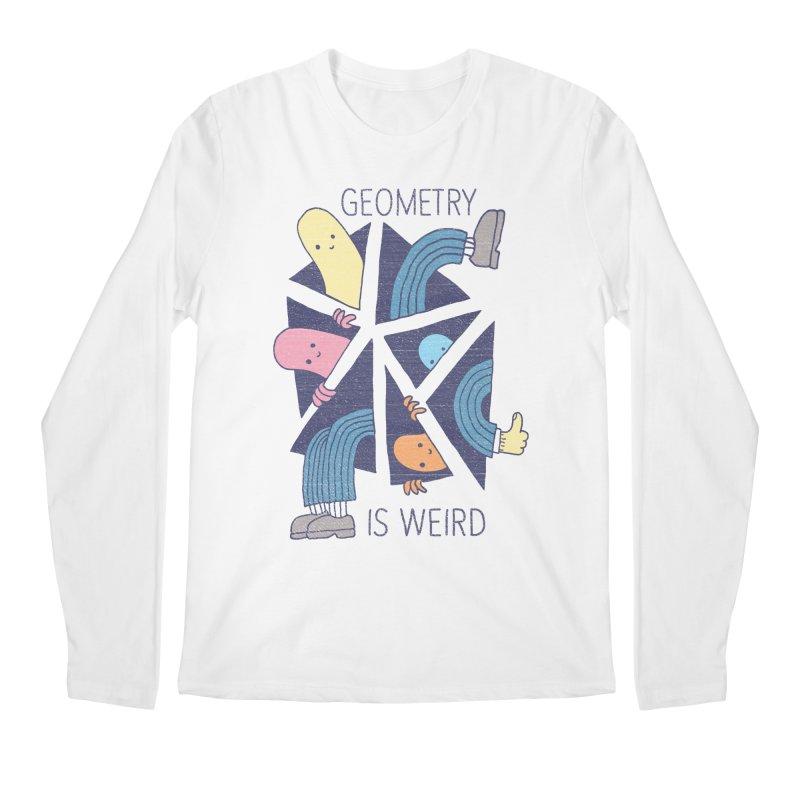 GEOMETRY IS WEIRD Men's Longsleeve T-Shirt by Beanepod