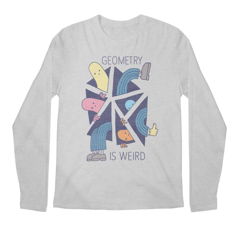 GEOMETRY IS WEIRD Men's Regular Longsleeve T-Shirt by Beanepod
